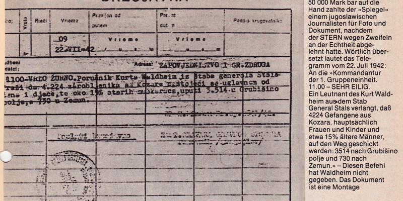 Waldheim-Telegramm